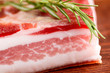 pancetta stagionata - seasoned bacon