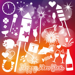 New Year Vector Elements