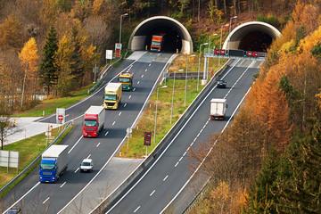 Tauernautobahn in Salzburg