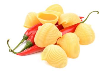 pasta and chili