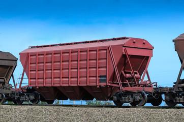 self-unloading wagon