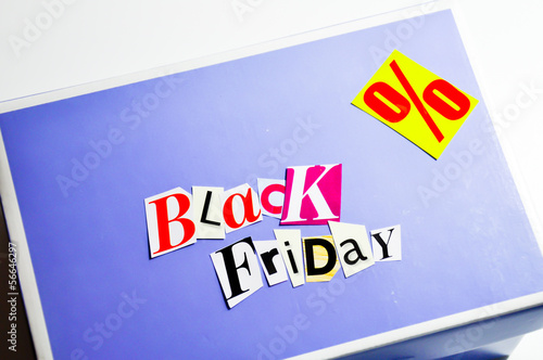black friday collage