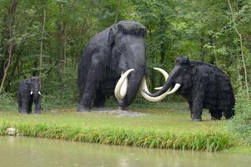 Prehistoric mammoths