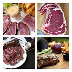 Steak, entrecôte, bœuf, côte de bœuf, viande, grill