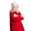 Kleines Kind in Wintersachen