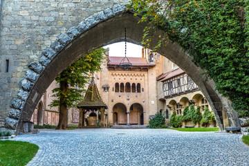 Steinbogen, Burg Kreuzenstein, Österreich