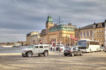 City Stockholm. HDR
