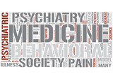 Behavioral medicine Word Cloud Concept
