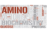 Biochemistry Word Cloud Concept