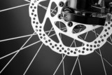 Disk brake of a mountain bicycle