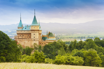 Beautiful Bojnice castle