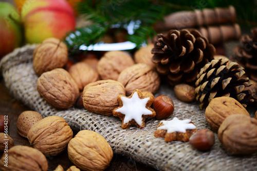 Nüsse,Weihnachten
