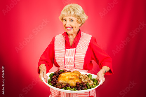Thanksgiving Dinner with Grandma