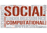 Computational sociology Word Cloud Concept