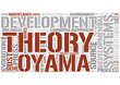Developmental systems theory Word Cloud Concept