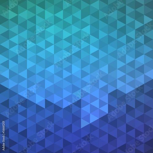 Turquoise geometric banner, vector eps8 illustration - 56661201