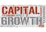 Economic growth Word Cloud Concept
