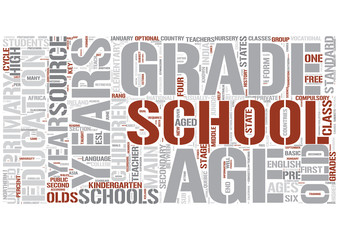 Elementary education Word Cloud Concept