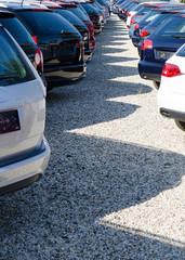 Autohandel verschiedene Modelle