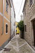 Small alley in Croatia