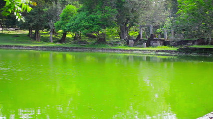Anuradhapura, Sri Lanka - Huge ancient swimming pool