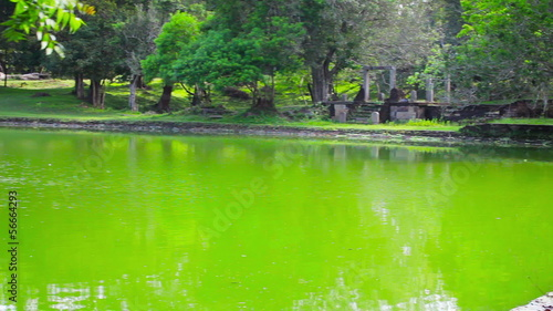 Anuradhapura, Sri Lanka - Huge ancient swimming pool