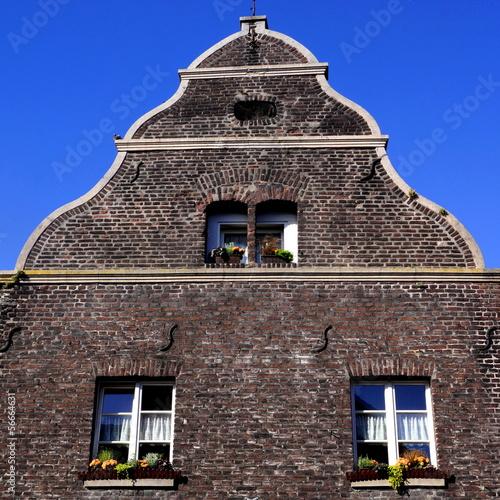 Historischer Stadtkern von WACHTENDONK ( Niederrhein )