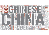 History of Asia Word Cloud Concept