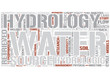 Hydrology Word Cloud Concept