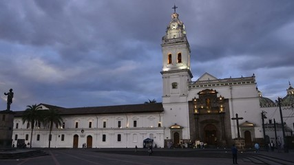 chiesa santo domingo quito