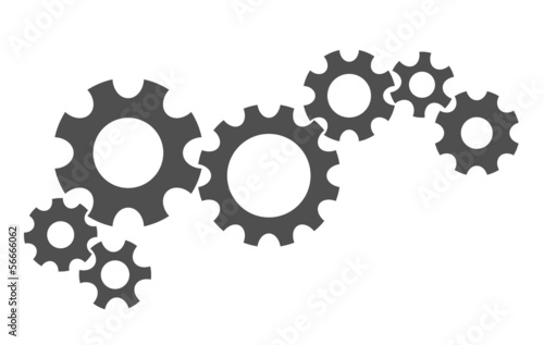 gears industrial abstract background