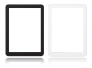 tablet computer icon black and white