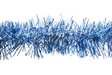 Blue tinsel