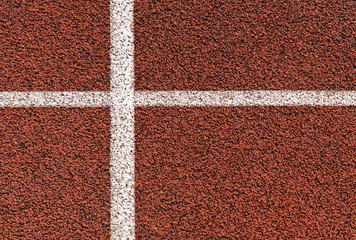 Hintergrund - Aschenbahn - Sportbelag
