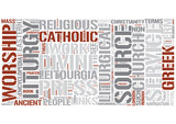 Liturgy Word Cloud Concept