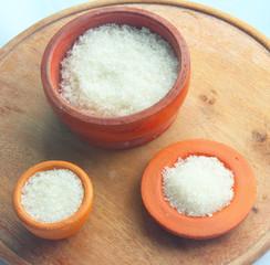 sugar with clay pot