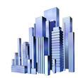 City urban scene