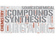 Organic chemistry Word Cloud Concept