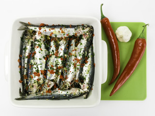 Sardine al peperoncino