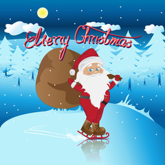 Santa Claus - Vector Illustration, Graphic Design