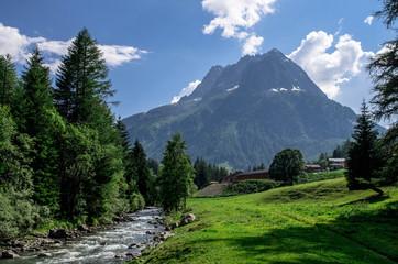 Aiguilles Rouges Alpes