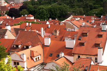 View of roofs