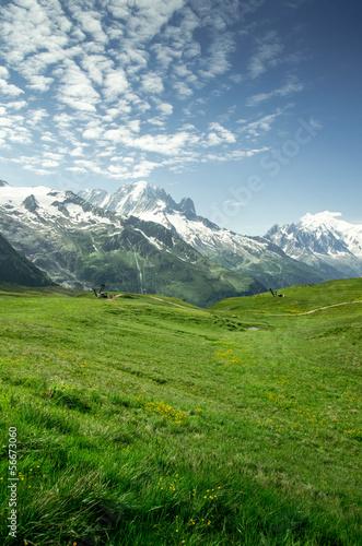 Massif du mont blanc © Florian Villesèche