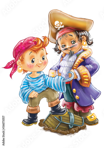 funny pirate boys