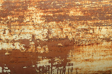 Rusty metal abstract texture