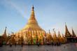 Golden Shwedagon Pagoda in Yangon, Myanmar