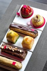 Gâteau, pâtisserie, dessert, sucre, éclair, tarte, chocolat