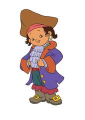boy costume pirate
