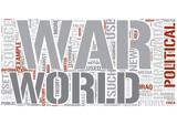Propaganda Word Cloud Concept poster