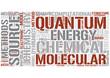 Quantum chemistry Word Cloud Concept